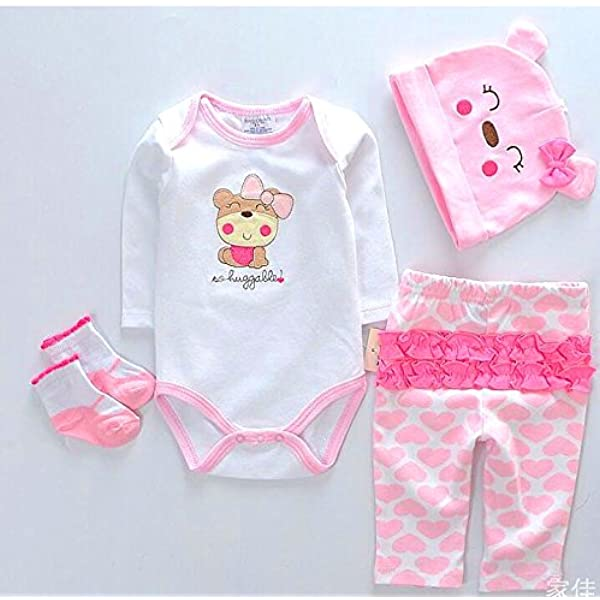"""22/"""" Reborn Baby Girl Doll Clothes Outfit Dress Doll Clothing Suit For Doll Gifts"""