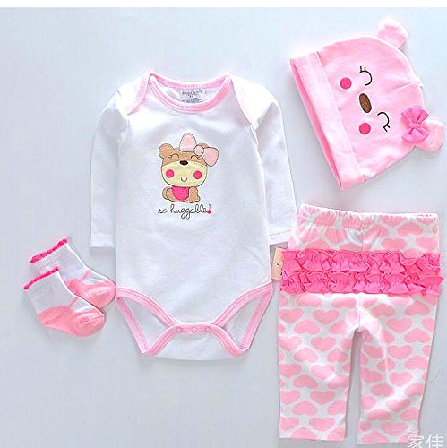 (NPK Reborn Dolls Baby Clothes Pink Outfits for 20
