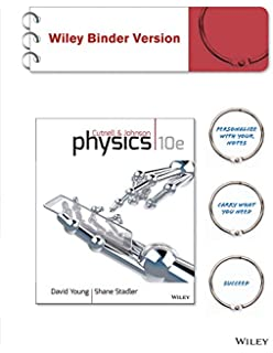 Amazon physics volume 2 5th edition 9780471387183 john d physics 10e binder ready version wileyplus registration card fandeluxe Image collections