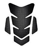 yamaha r6 tank pad - OTOLIMAN 3D Motorcycle Carbon Fiber Vinyl Gel Gas Tank Pad Protector Decal and Sticker Tankpad