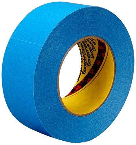 (3M 17583-case Repulpable Strong Single Coated Tape R3187, 36 mm x 55 m, Blue (Pack of 24))
