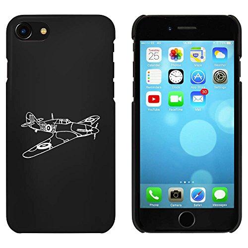 Noir 'Avion Hurricane' étui / housse pour iPhone 7 (MC00070615)