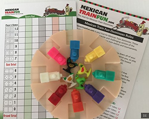 Mexican Train & ChickenFoot Accessory (Chickenfoot Game Accessory)