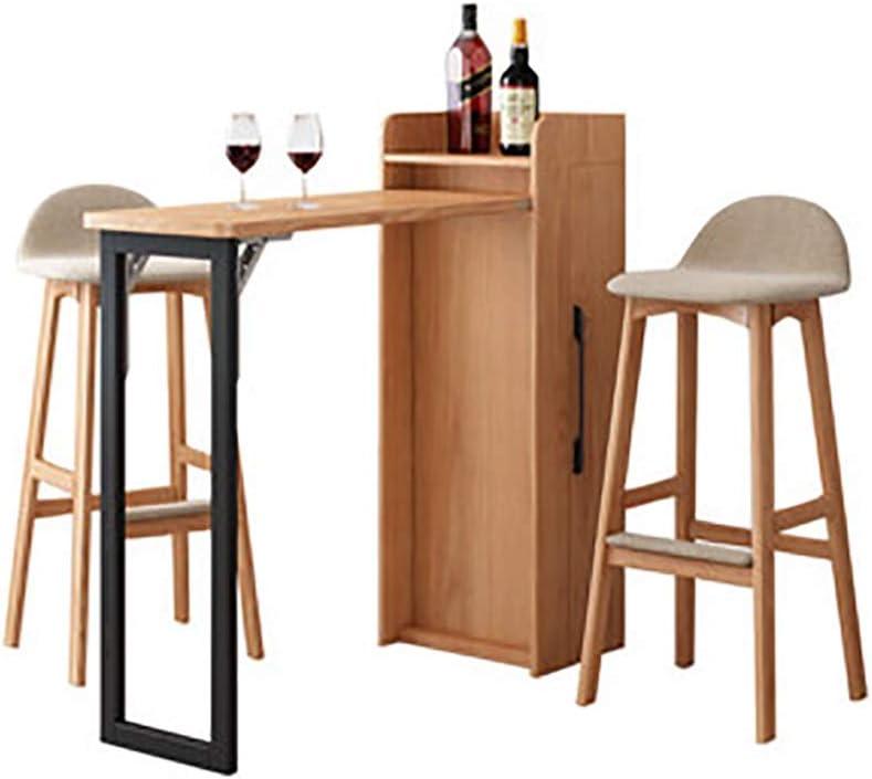 Drhysfsa Home Bar Table Kitchen Breakfast Bar Furniture Wall