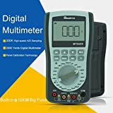 MT8205 2 in 1 Digital Intelligent Handheld Storage Oscilloscope Multimeter AC/DC Current Voltage Resistance Frequency Diode Tester