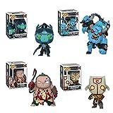 Funko Pop! Games Bundle of 4: Dota 2 - Juggernaut, Pudge, Phantom Assassin, and Spirit Breaker
