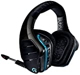 Logitech G933 Artemis Spectrum - Wireless RGB 7.1 Dolby and DTS:X HeadphoneX Surround Sound Gaming Headset - PC, PS4, Xbox One, Switch, and Mobile Compatible - Advanced Audio Drivers
