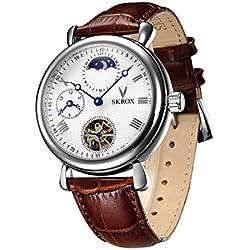 Skrox Men's Luxury Automatic Mechanical Wrist Watch