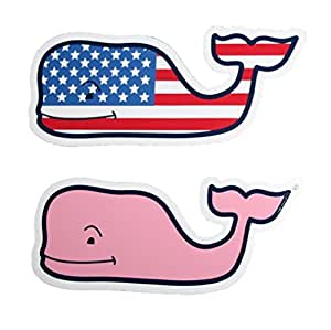 Amazon Com Vineyard Vines New Lot Of 2 Whale Sticker 4 5