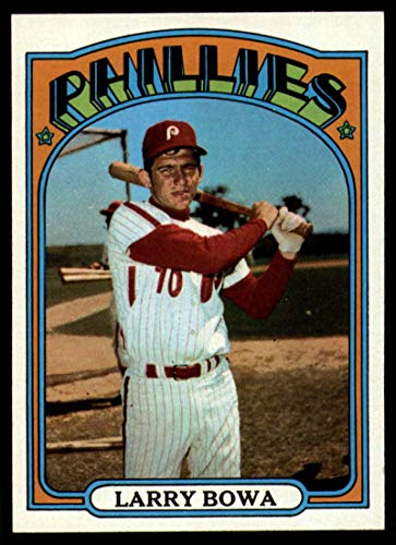 Verzamelkaarten: sport Honkbal 1972 Topps #520 Larry Bowa Philadelphia Phillies Baseball Card