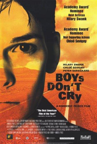 Boys Don't Cry Movie Poster (27 x 40 Inches - 69cm x 102cm) (1999) Style B -(Hilary Swank)(Chloe Sevigny)(Peter Sarsgaard)(Brendan Sexton III)(Alison Folland)(Alicia (Lecy) Goranson)