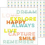 Dream On Double-Sided Cardstock 12''X12''-Aspire - Case Pack of 25