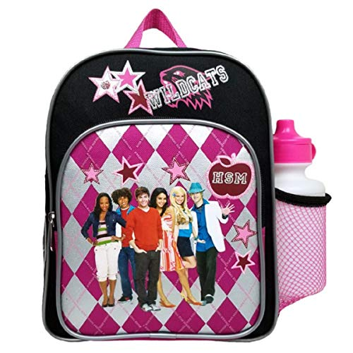 High School Musical Plaid Mini Backpack with Water Bottle #56856 ()