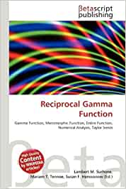 Reciprocal gamma function download pdf free