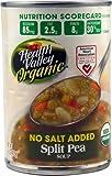 Health Valley Organic Soup No Salt Added Split Pea -- 15 fl oz - 2 pc