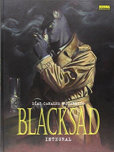 Descargar Libro Blacksad Edición Integral Volúmen 1 Al 5 Juanjo Guarnido Díaz Canales