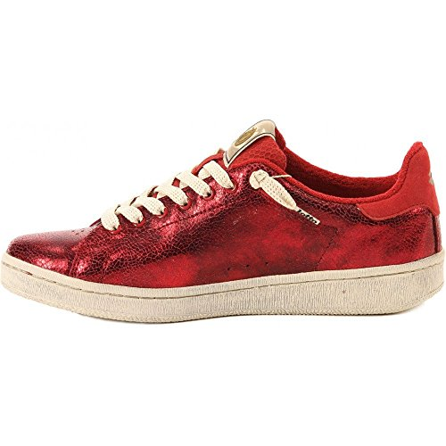 Lotto - Autograph Suede Metallic Crackle Red - Sneakers Women