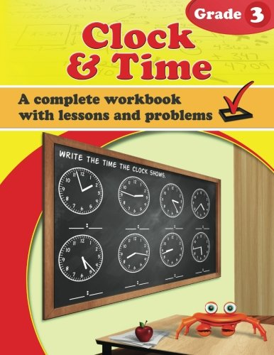 Clock and Time, Grade 3: Maria Miller: 9781522894261: Amazon.com ...