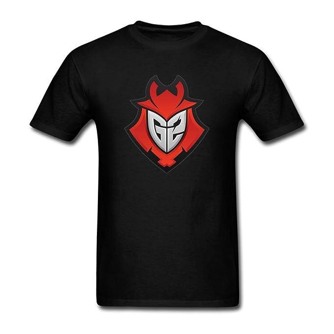 XIULUAN hombre G2 Esports Logo camiseta de manga corta: Amazon.es: Ropa y accesorios