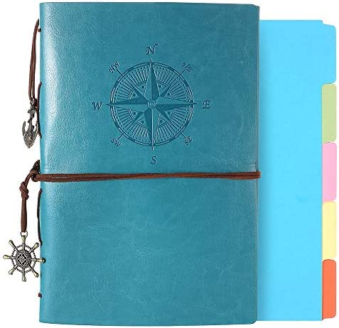 Leather Journal Refillable Notebook Dividers product image