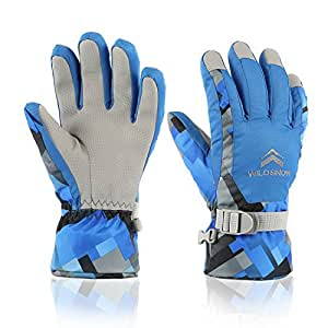 Amazon.com : DUZCLI Ski Gloves, Winter Warm Waterproof