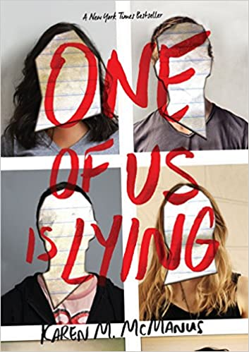 Image result for one of us is lying cover