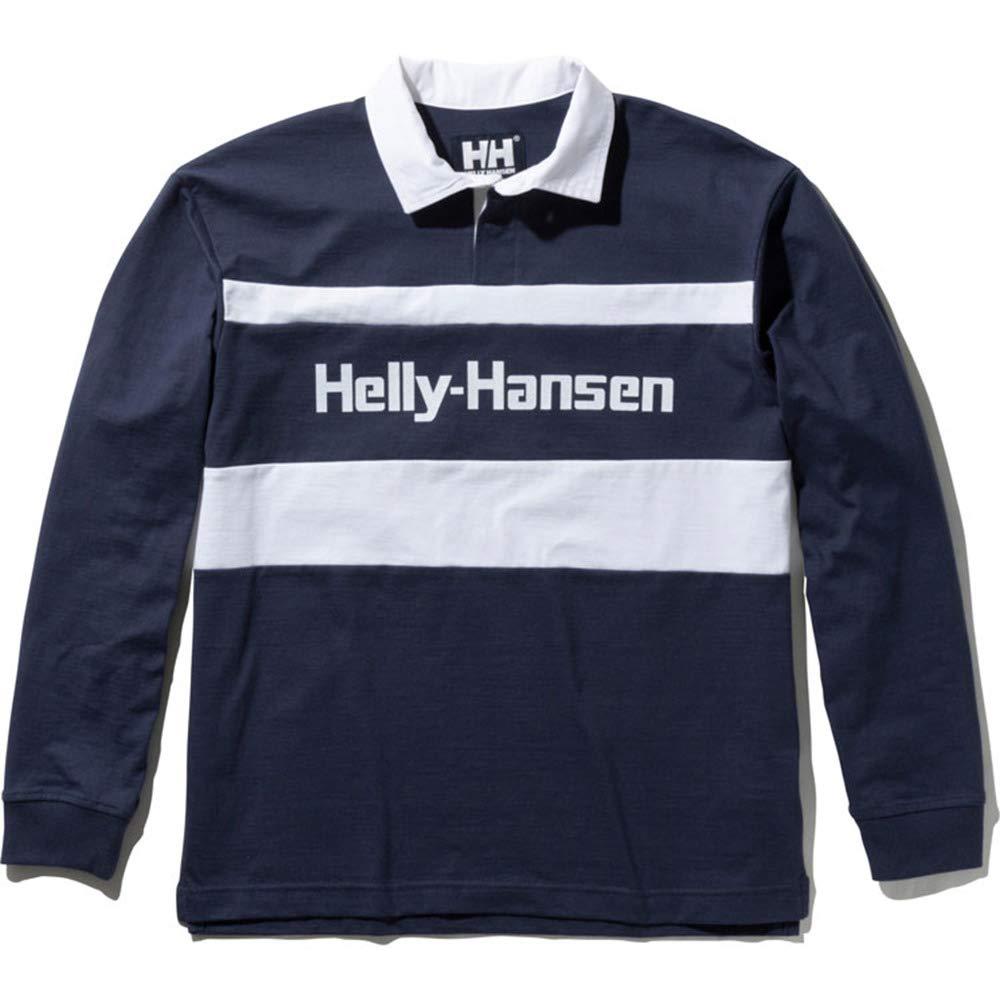 ヘリーハンセン(ヘリーハンセン) ロングスリーブフォーミュラーラグビージャージー HH31903 HB LL ネイビー B07PBPXV8Y