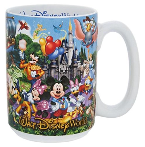 Walt Disney World Mickey Mouse and Pals Character Storybook Ceramic Mug (Storybook Ceramics)