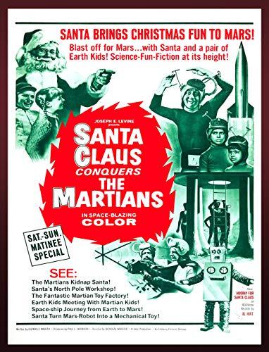 Conquers Martians Movie Poster - 20