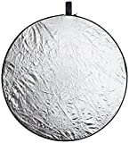 ePhoto 32REF 32-Inch 5 in 1 Collapsible Multi Disc Reflector with Translucent, Silver, Gold, White and Black Reflectors