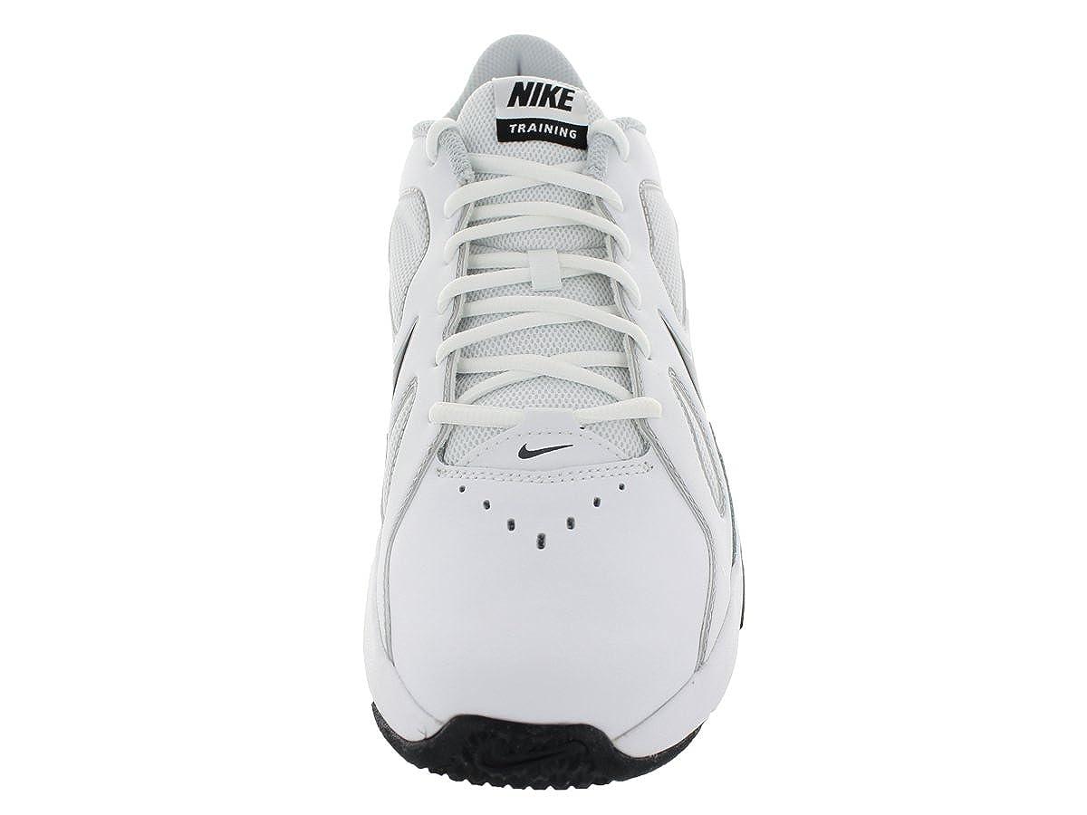 new styles 9ad17 c6c6c Amazon.com   Nike Men s Air Max Crusher White Drk Gry Mtlc Pltnm Pr Pl  Training Shoe 9 Men US   Fitness   Cross-Training
