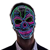 Halloween LED Purge Scary Mask Light Up LED Mask