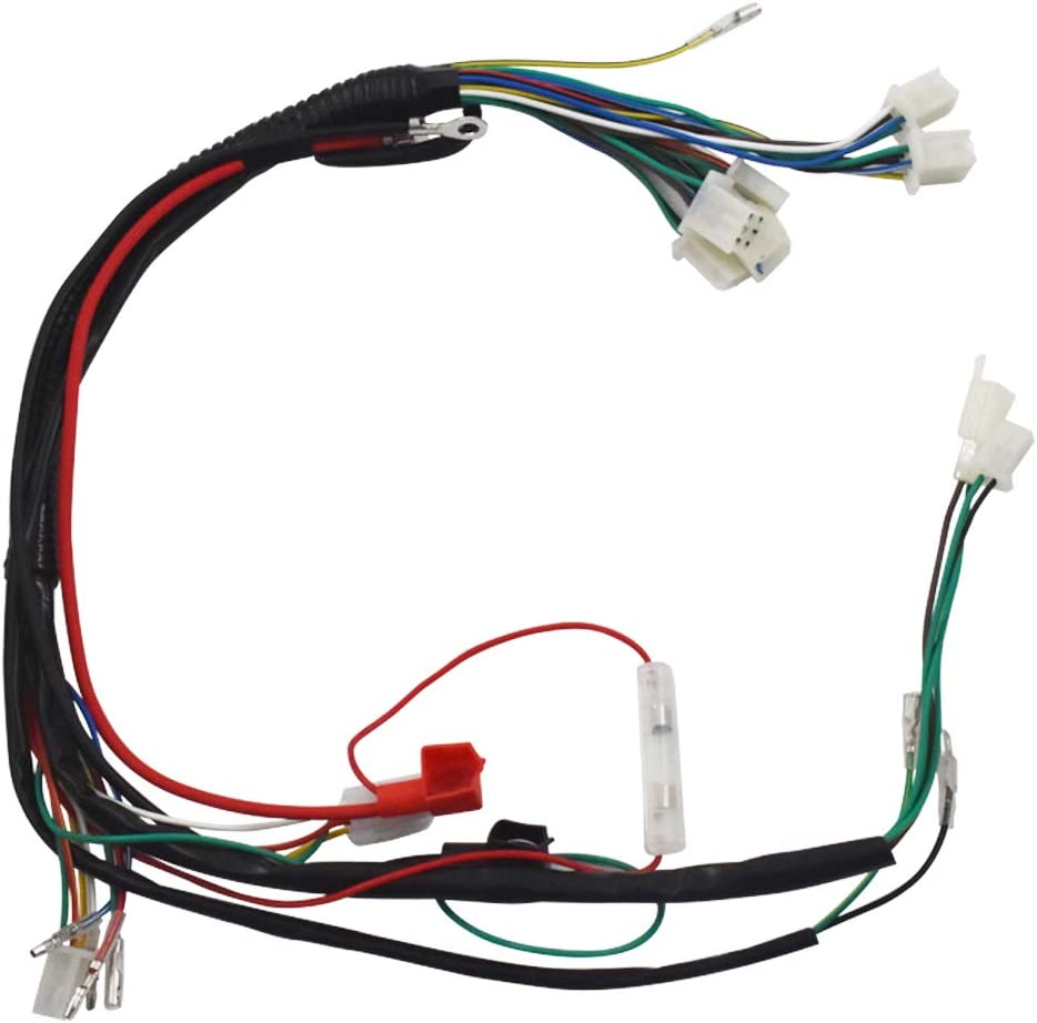 labwork Electric Wiring Harness Fit for Chinese ATV UTV GoKart Taotao 50 70 90 110 125cc