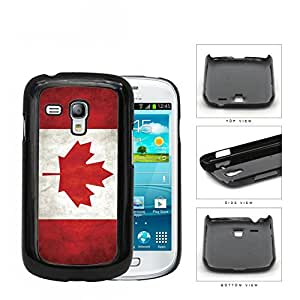 Canada State Flag Red and White Grunge Hard Snap on Cell Phone Case Samsung Galaxy S3 MINI I8190