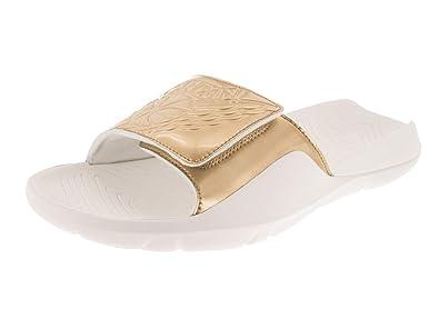 8a32f58f500e Jordan Nike Men s Hydro 7 Sail Metallic Gold Sandal 8 Men US