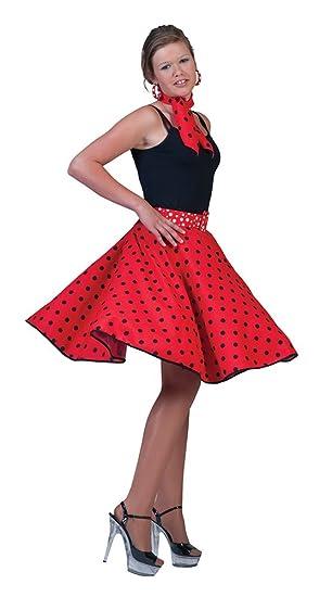 50u0027s Red Sock Hop Rock u0027nu0027 Roll Fancy Dress Costume ...  sc 1 st  Amazon.com & Amazon.com: 50u0027s Red Sock Hop Rock u0027nu0027 Roll Fancy Dress Costume ...