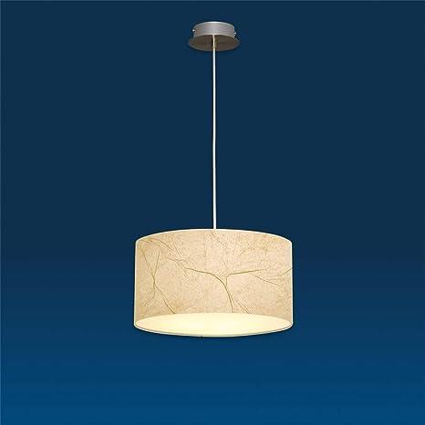 LUX de lámpara Lámpara colgante Nero perg Ameno Beige ...