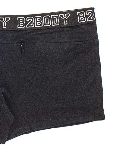 ffa250793f67 Women's Secret Stash Pocket Cotton Boyshorts Underwear Panties S-4XL Plus  Size at Amazon Women's Clothing store: