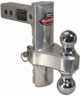 10 Inch Dropped Hitch Trimax TRZ10ALHD Heavy Duty Aluminum 20,000 LB Rated