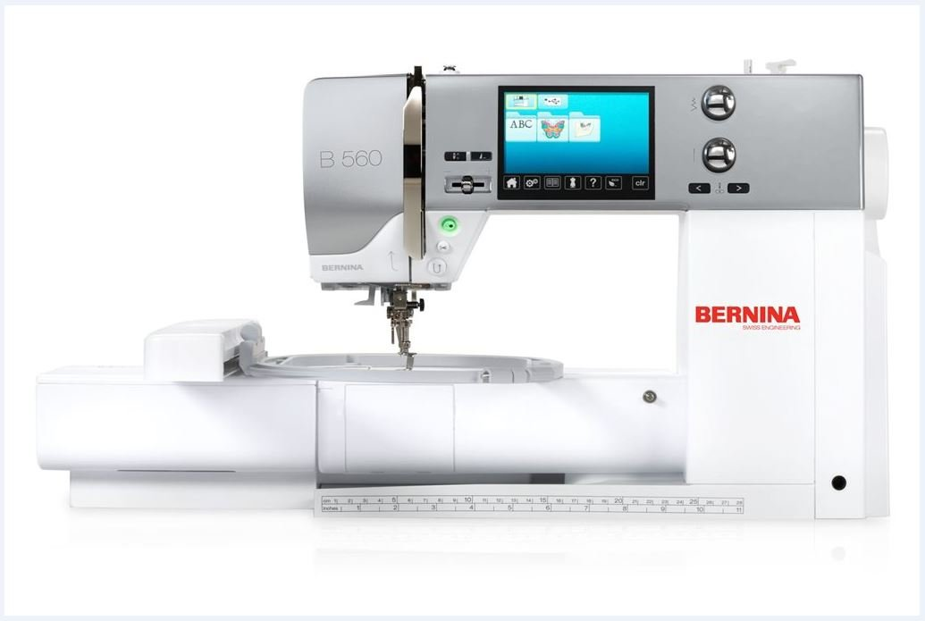 Bernina B560E bordado de máquina de coser doméstica: Amazon.es: Hogar