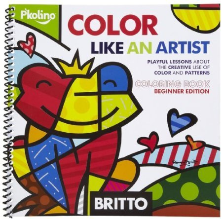 P'Kolino Britto Color Like an Artist - Coloring -