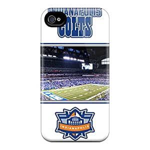 Pretty AuBEf4804bEdoa Iphone 4/4s Case Cover/ Indianapolis Colts Series High Quality Case