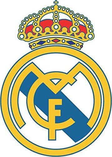 postwalldecor Real Madrid FC Spain Soccer Football Coche De Parachoques Etiqueta Engomada 10 x 12 cm: Amazon.es: Deportes y aire libre