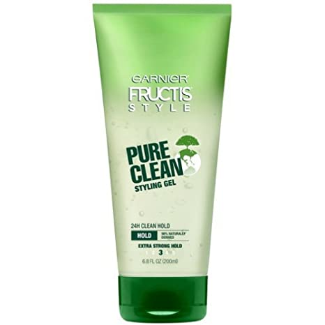 Garnier Fructis Style Pure Clean Styling Gel, 200ml Creams, Gels & Lotions at amazon