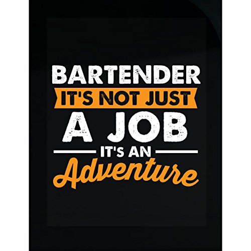 Bartender Range - Bartender Not Just A Job Gift For Bartender - Sticker
