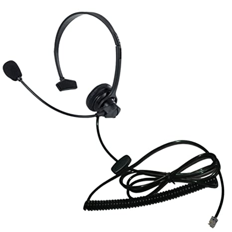 Amazon com: Voistek Call Center Telephone Headphone Headset
