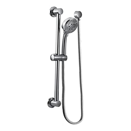 Lovely Moen Handheld Showerhead With 69 Inch Long Hose Featuring 30 Inch Slide Bar