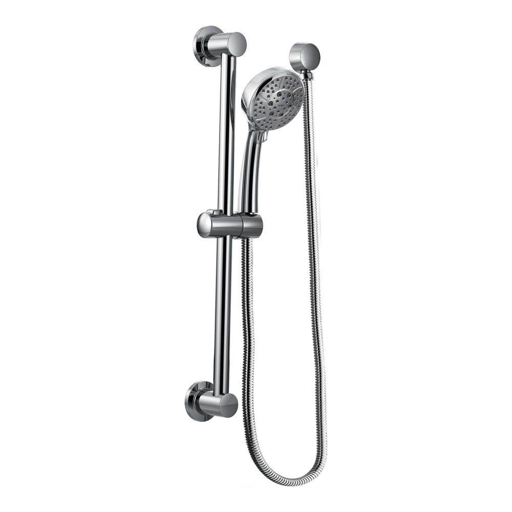 Moen Handheld Showerhead with 69-Inch-Long Hose Featuring 30-Inch Slide Bar, Chrome (3669EP)