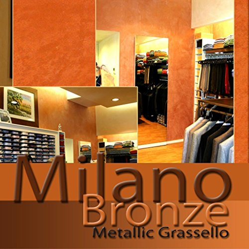 Milano Bronze Metallic (Fine) Authentic Venetian Metallic Plaster from Italy. The ultimate in luxury finishes. by FirmoLux