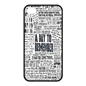 A Day To Remember Protective Rubber Cover Case for iPhone 4,iPhone 4s Cases